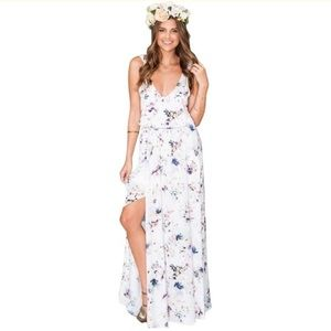 Show Me Your Mumu Kendall floral maxi dress
